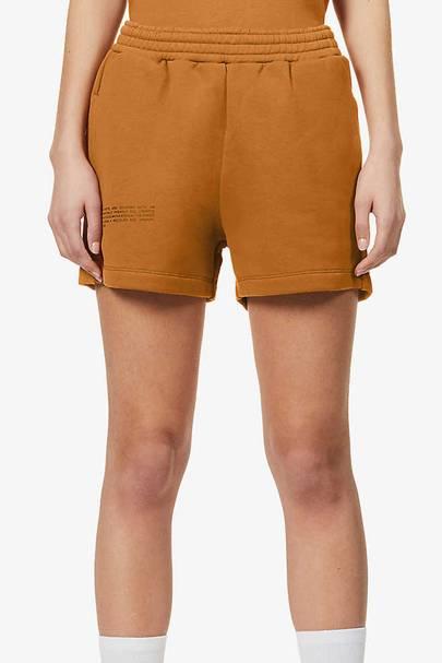 Slogan sweat shorts