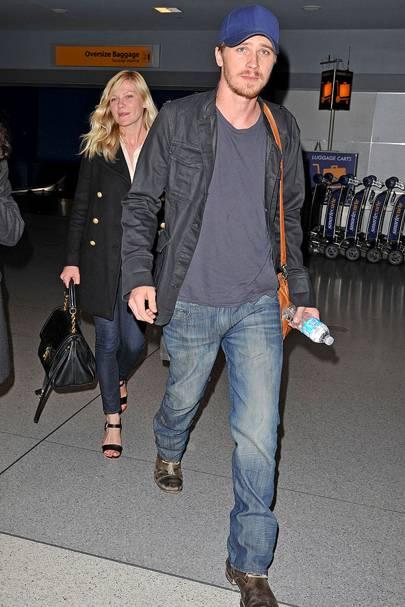 April: Kirsten Dunst and Garrett Hedlund