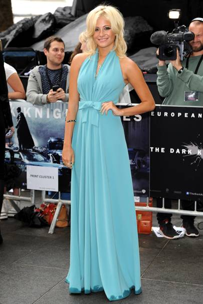 Pixie Lott at The Dark Knight Rises premiere