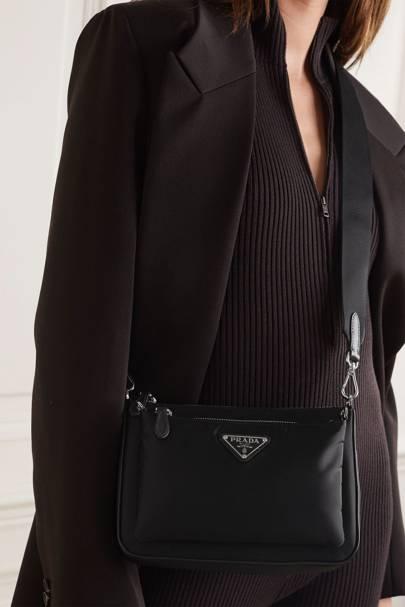 Best designer cross-body bags: Prada