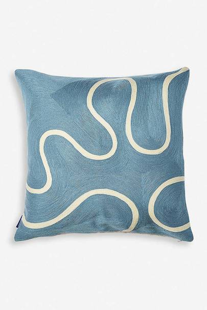 The linen cushion cover