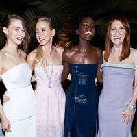 Julianne Moore, Lupita Nyong'o, Naomi Watts and Rooney Mara
