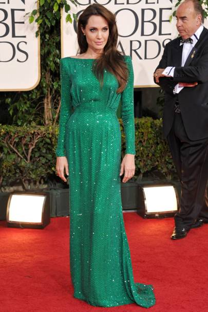 DO #17: Angelina Jolie at the Golden Globes, January