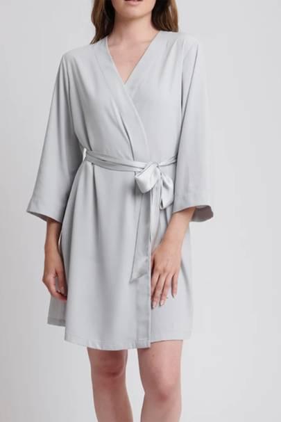 Bridesmaid robes: the lightweight robe