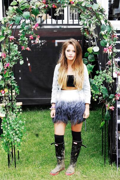 Tabitha Headington, Student, Isle of Wight Festival