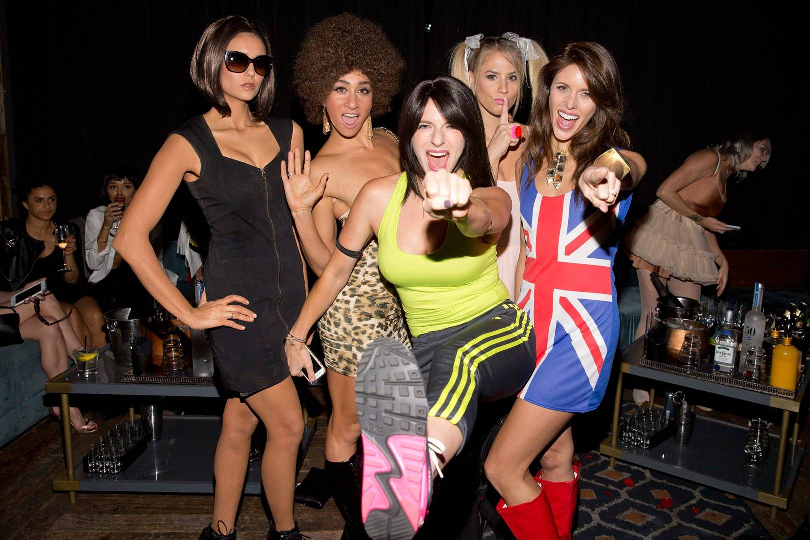 nina dobrev victoria beckham halloween costume spice girls vampire diaries glamour uk