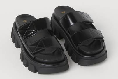 UGLY SHOES: CHUNKY SLIDES