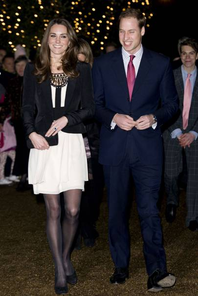 Kate Middleton – Monochrome Magic