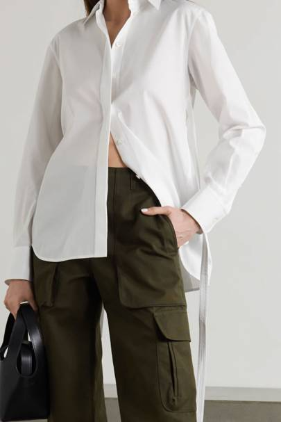 Best Women's White Shirts - Helmut Lang