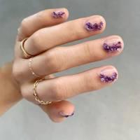 Crystal nail art