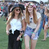 Bella Thorne at Coachella