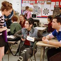 Janice and Damien in Mean Girls