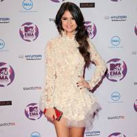 Selena Gomez at the MTV EMAs 2011