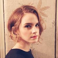 Emma Watson's honey-hued bob