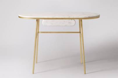 Best desks for small spaces: the art-deco desk