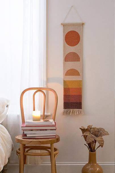 Best wall art: fabric hangings