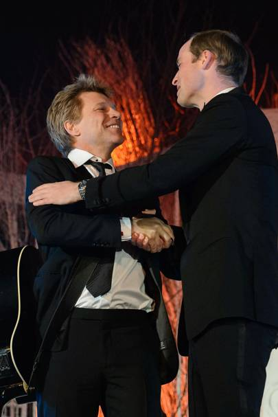 Jon Bon Jovi & Prince William