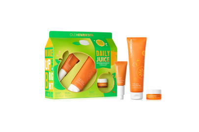 Cheap Christmas gifts: the brightening skincare set