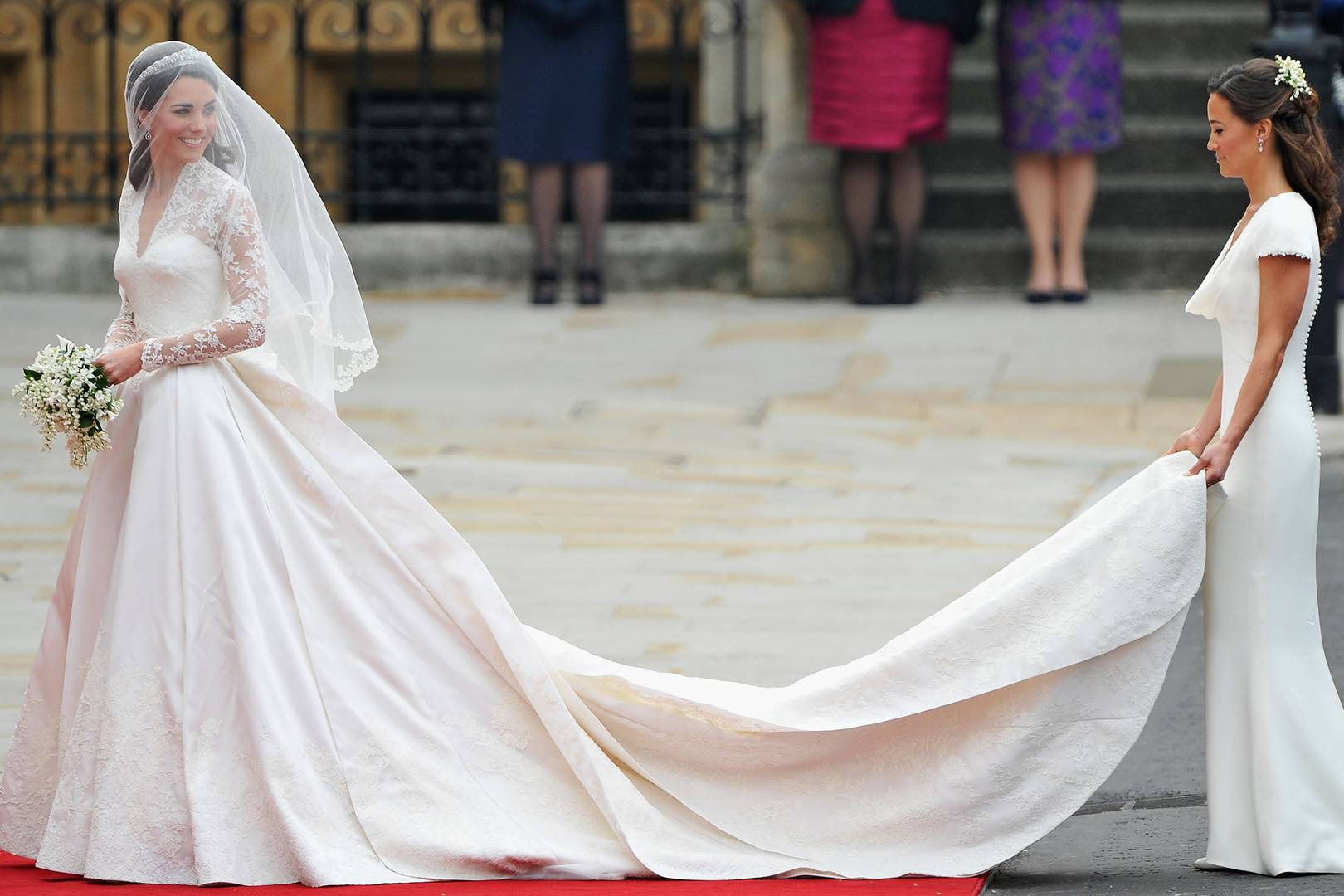 Kate Middleton Second Wedding Dress | Glamour UK
