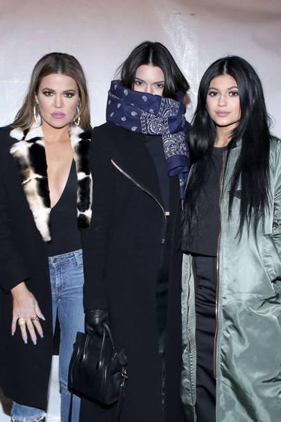 fe5876cf3c1 Kylie Jenner runway debut  New York Fashion Week Kanye West x Adidas ...