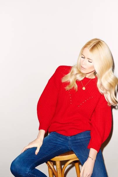 Claudia Schiffer Knitwear
