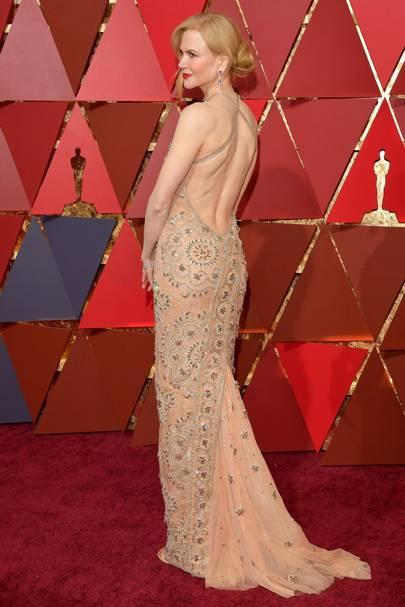 Oscars 2017: Nicole Kidman had a wardrobe malfunction