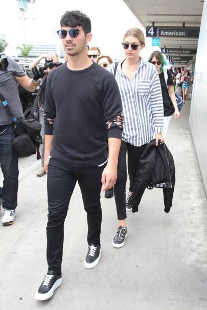 Joe Jonas & Gigi Hadid
