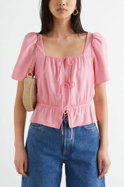 & Other Stories Sale Pink Top
