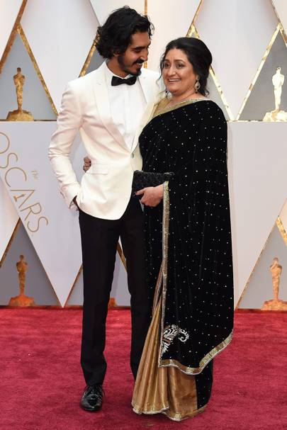 Dev Patel and Anita Patel