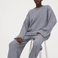 Best loungewear: the ribbed trousers