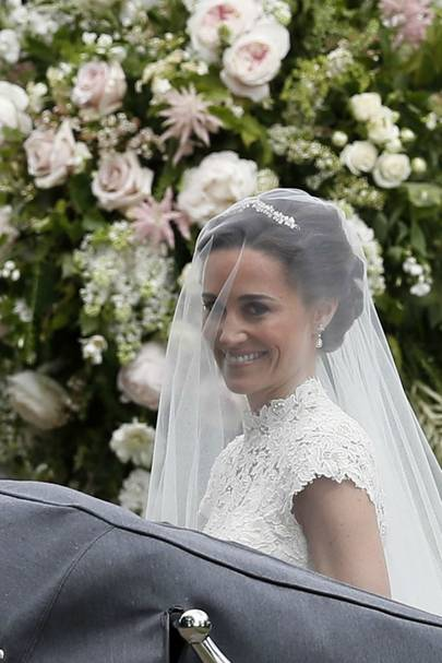 Pippa Middleton's wedding hairstyle - celebrity hair and ...