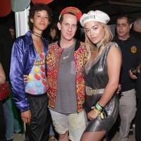 Dilone, Jeremy Scott and Rita Ora