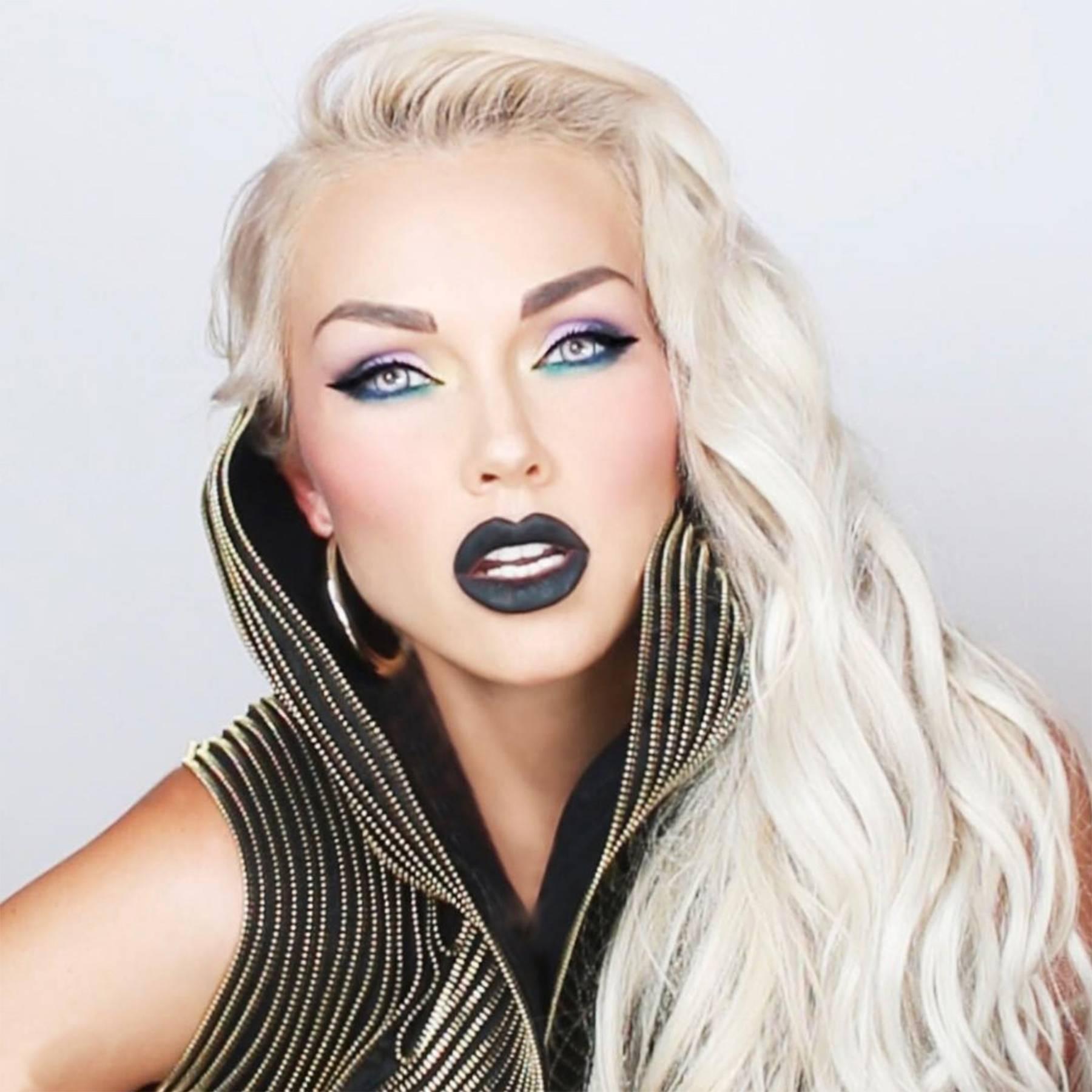 Pretty Halloween Makeup Ideas Mermaid Glitter Gems Sparkle Glamour Uk
