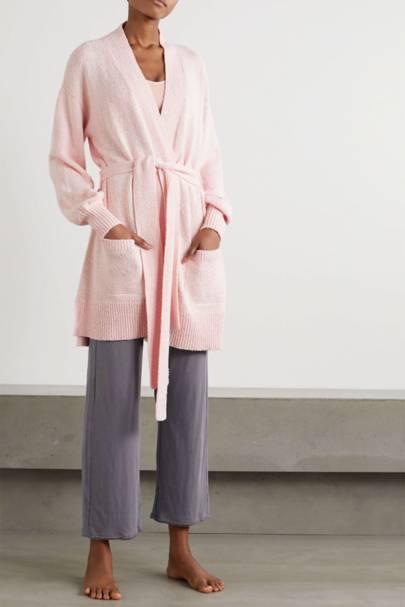 Best loungewear: the long cardigan