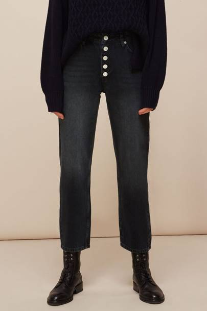 Best Black Jeans - Straight Leg