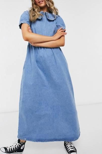 Best Denim Dresses - Maxi length