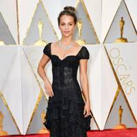 Alicia Vikander on the red carpet