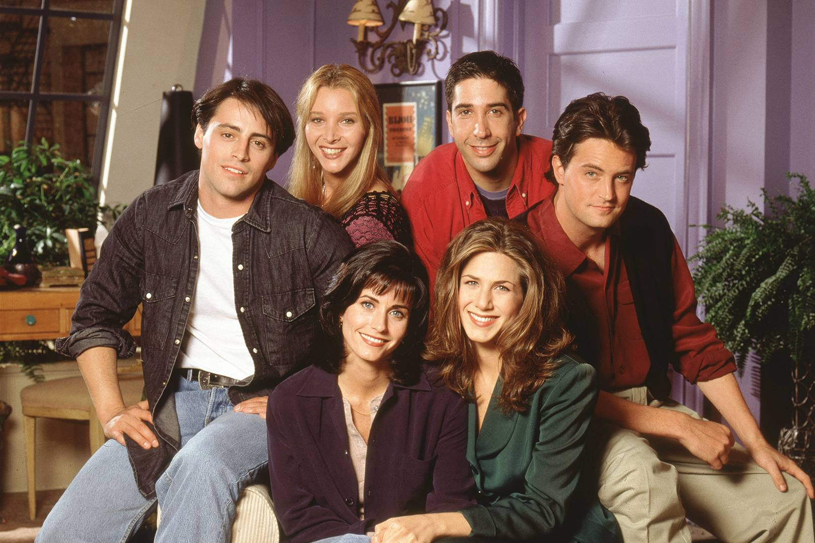 ages of friends cast members