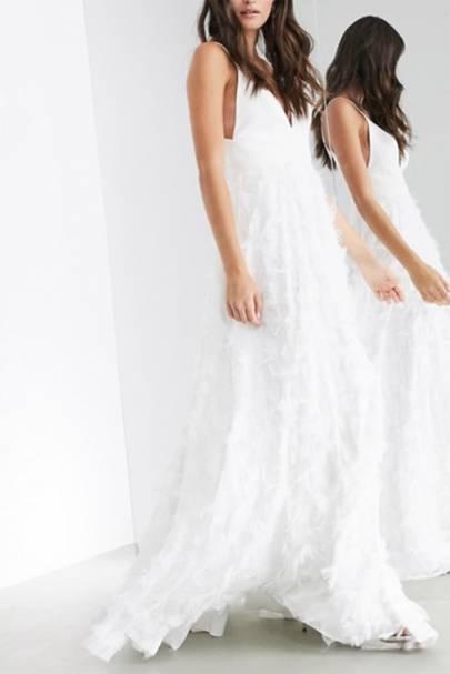 Best ASOS wedding dress for a glamorous wedding