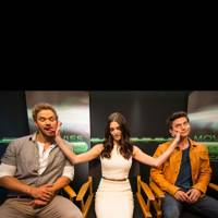 Kellan Lutz, Ashley Greene and Jackson Rathbone at Comic-Con 2012