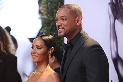 Jada Pinkett Smith, actress, by Will Smith, actor