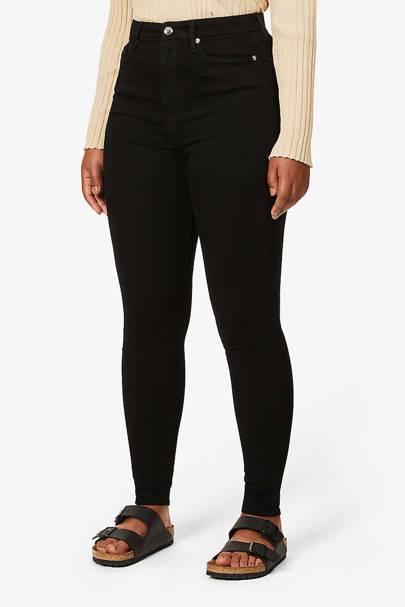 Best High-Waisted Black Skinny Jeans: Good American