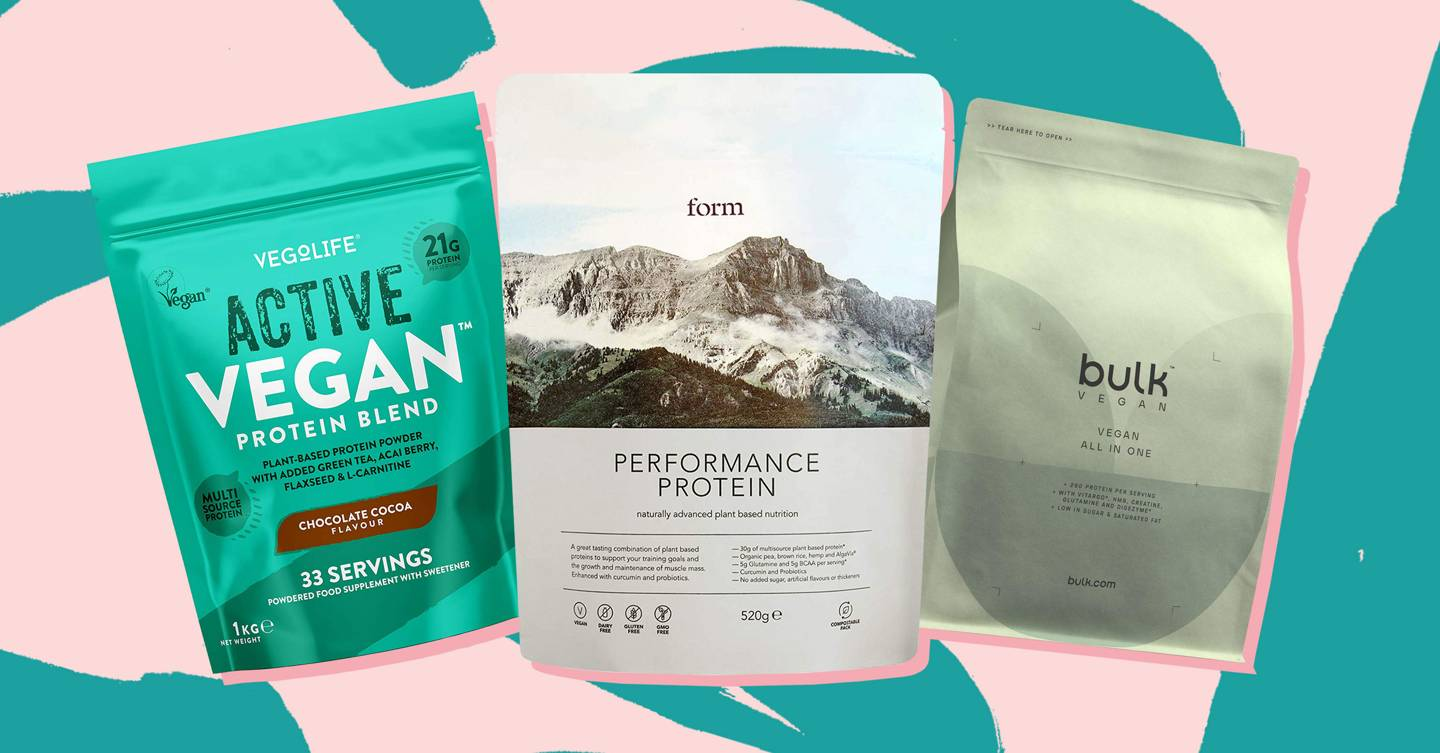 17 best vegan protein powders to help meet your recommended protein intake (that even non-vegans will love)