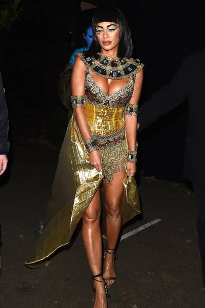 Nicole Scherzinger as Queen Cleopatra