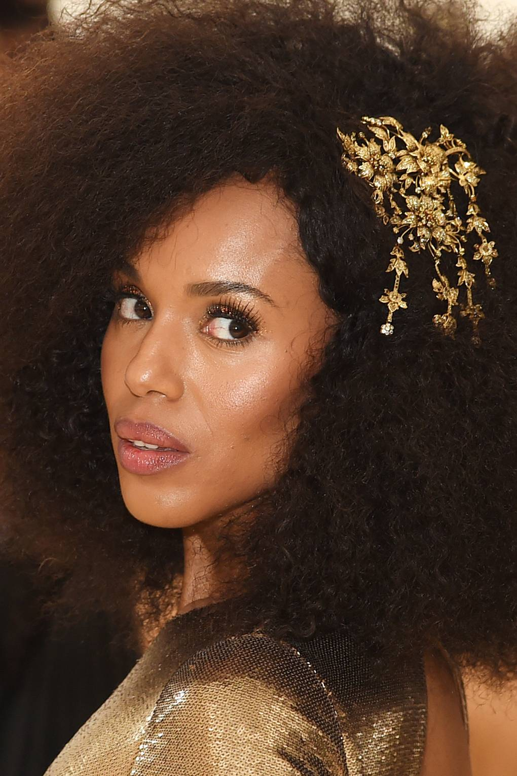 Golden Eye Makeup Inspiration From The 2018 Met Gala Glamour Uk