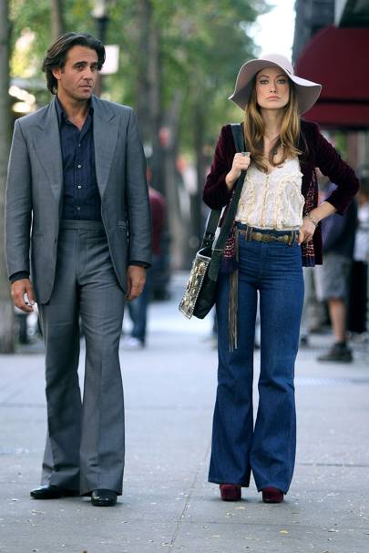 Bobby Cannavale and Olivia Wilde in Vinyl