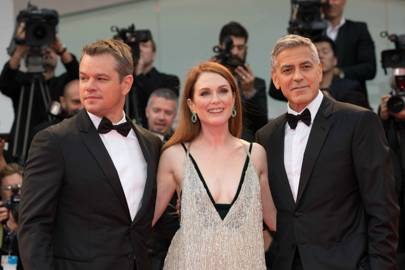 Matt Damon, Julianne Moore & George Clooney