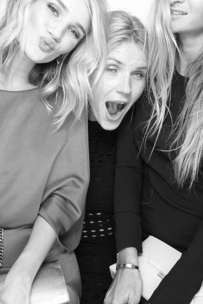 Rosie Huntington-Whiteley & Pals