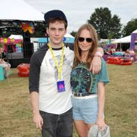 Laura Haddock & Sam Clafin at V Festival