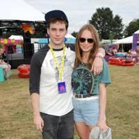 Laura Haddock & Sam Clafin at V Festival